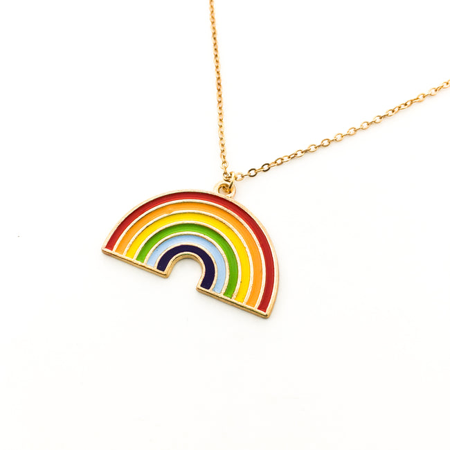 RAINBOW NECKLACE | GOLD