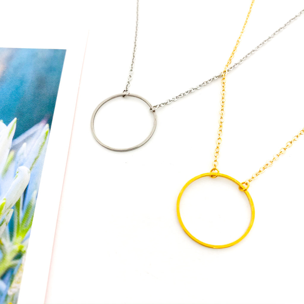 HOOP NECKLACE | STYLE OPTIONS