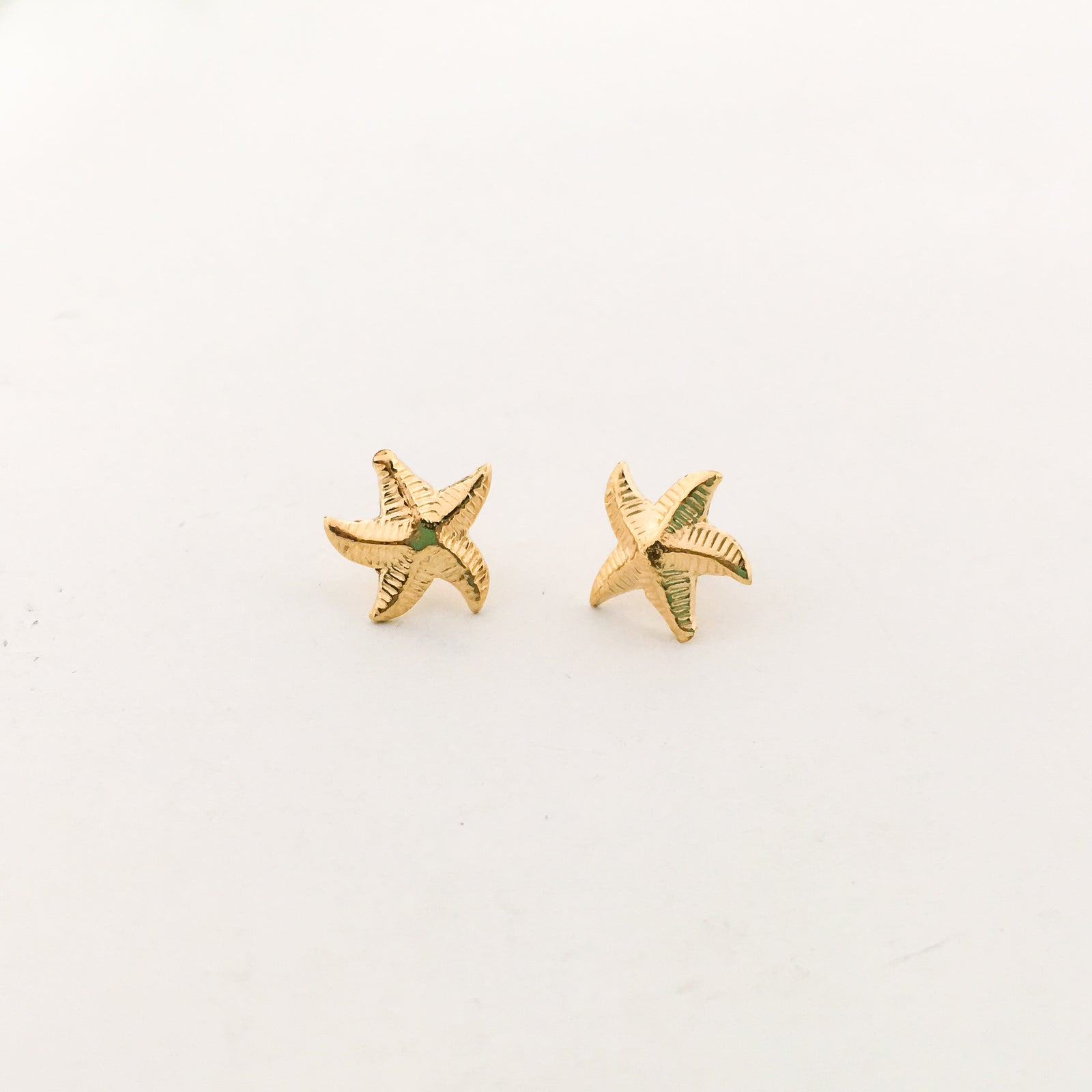 STARFISH STUD EARRINGS | 14K GOLD-FILLED