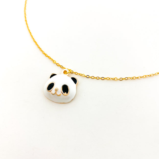 PANDA NECKLACE | GOLD