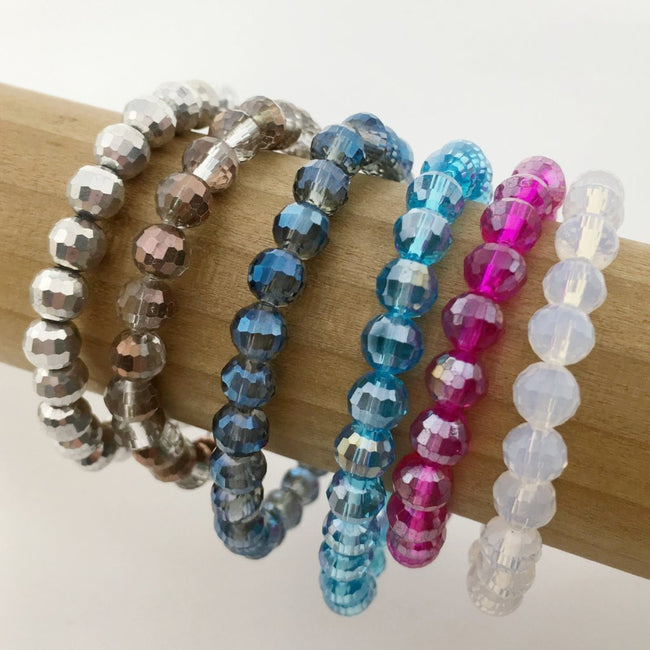 KIDS CRYSTAL BRACELETS | 6MM