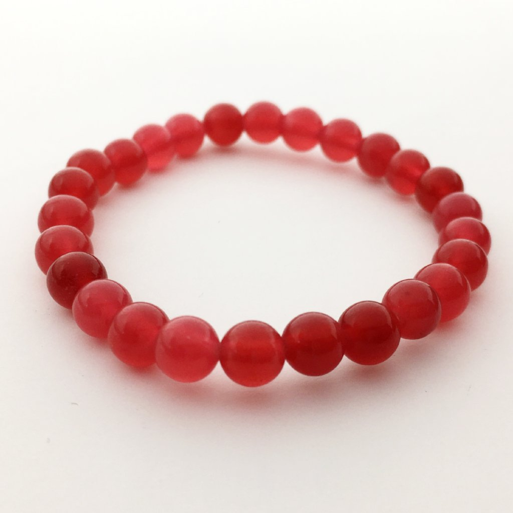KIDS JADE STONE BEAD BRACELETS | 6MM