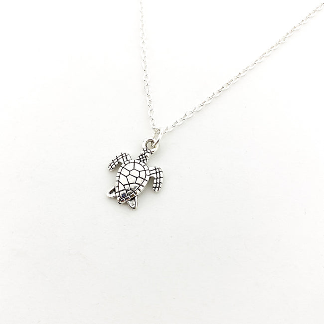 MINI SEA TURTLE NECKLACES | SIZE OPTIONS