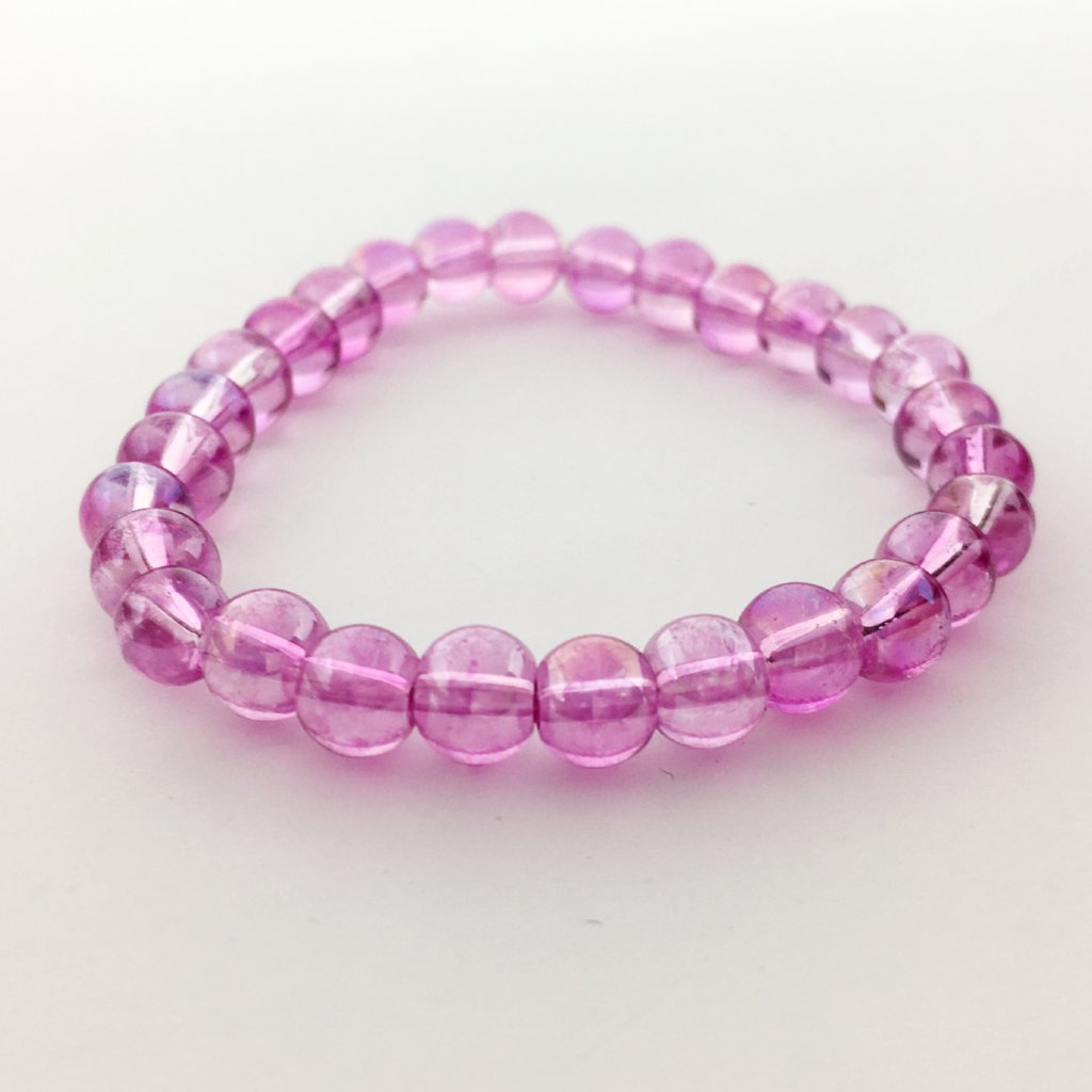 KIDS GLASS BEAD BRACELETS | 6MM
