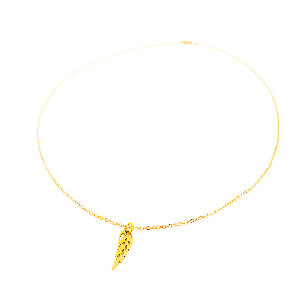 MINI HANGING ANGEL WING NECKLACE | STYLE OPTIONS