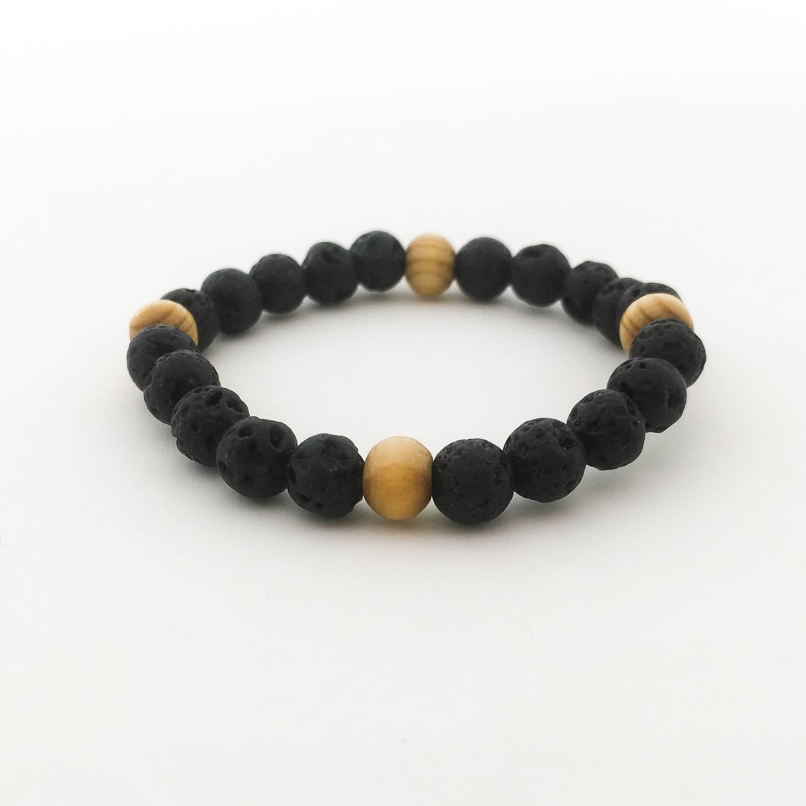 LAVA QUADRUPLE WOOD PATTERN BRACELET | KIDS