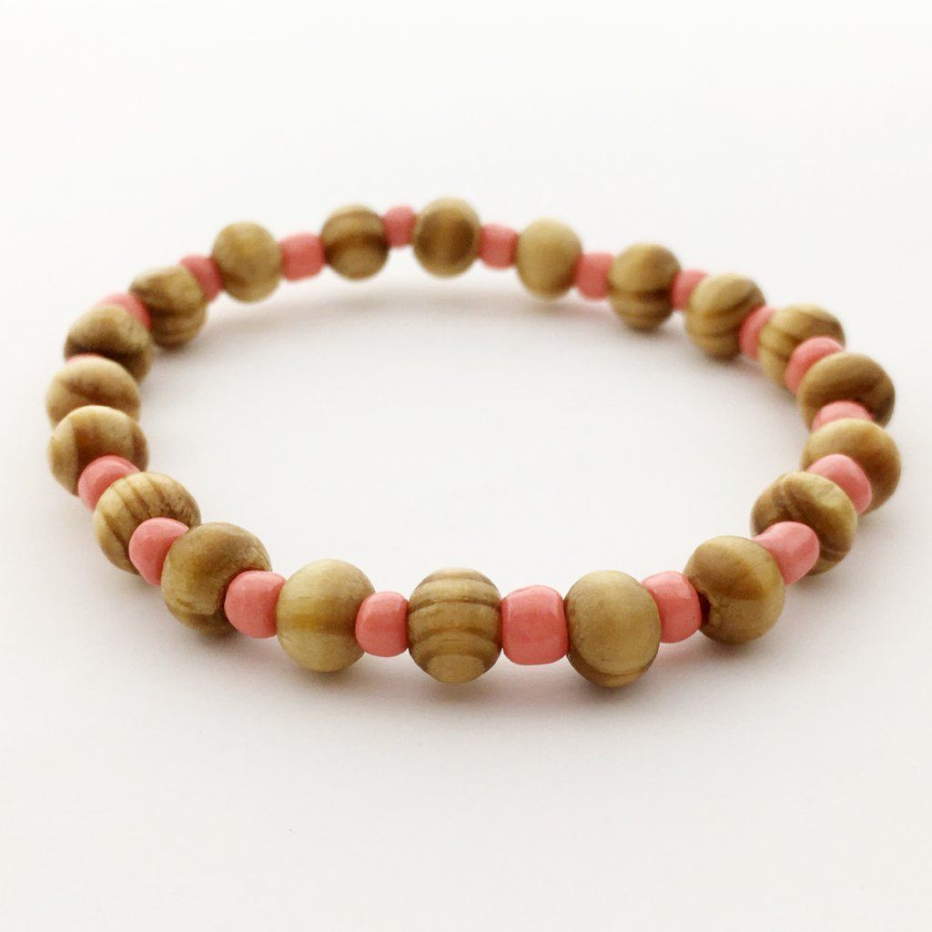 KIDS BEADED SPACED DIFFUSER BRACELETS