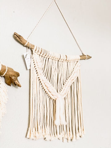 MACRAME BEADED PLANT HANGER | STYLE OPTIONS