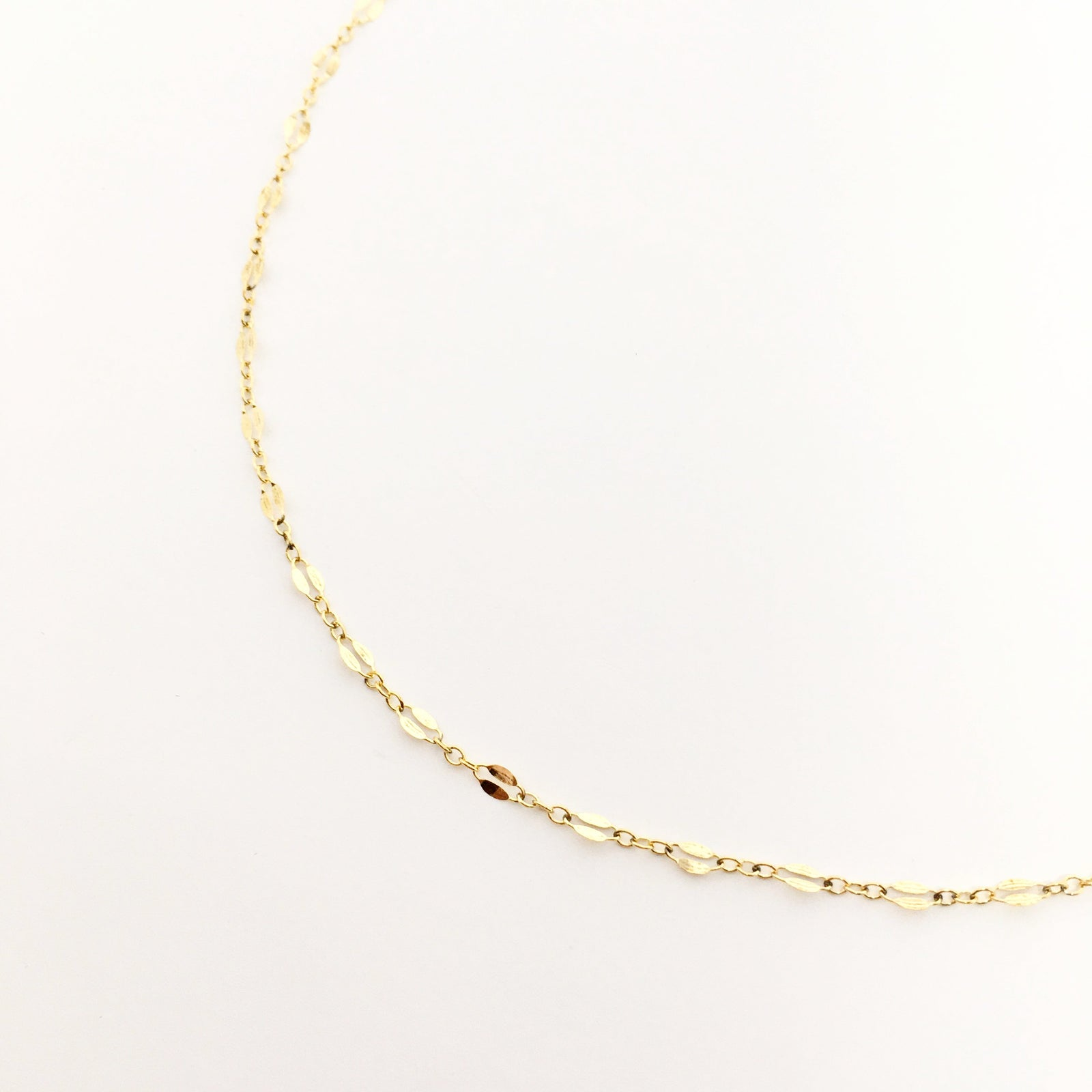14K GOLD CHAIN NECKLACE
