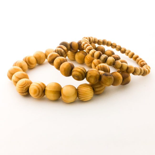 MENS SOLID WOOD BRACELETS | SIZE OPTIONS