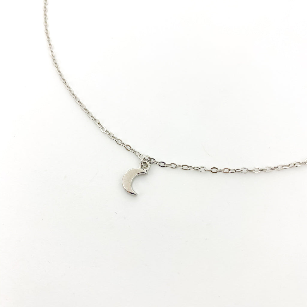 MINI MOON NECKLACES | STYLE OPTIONS
