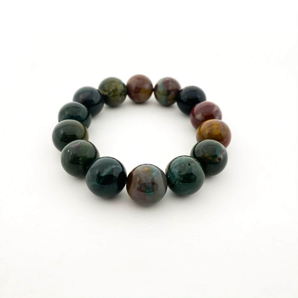 FANCY JASPER STONE BRACELET | SIZE OPTIONS