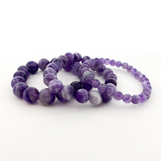 LIGHT AMETHYST BRACELETS | SIZE OPTIONS