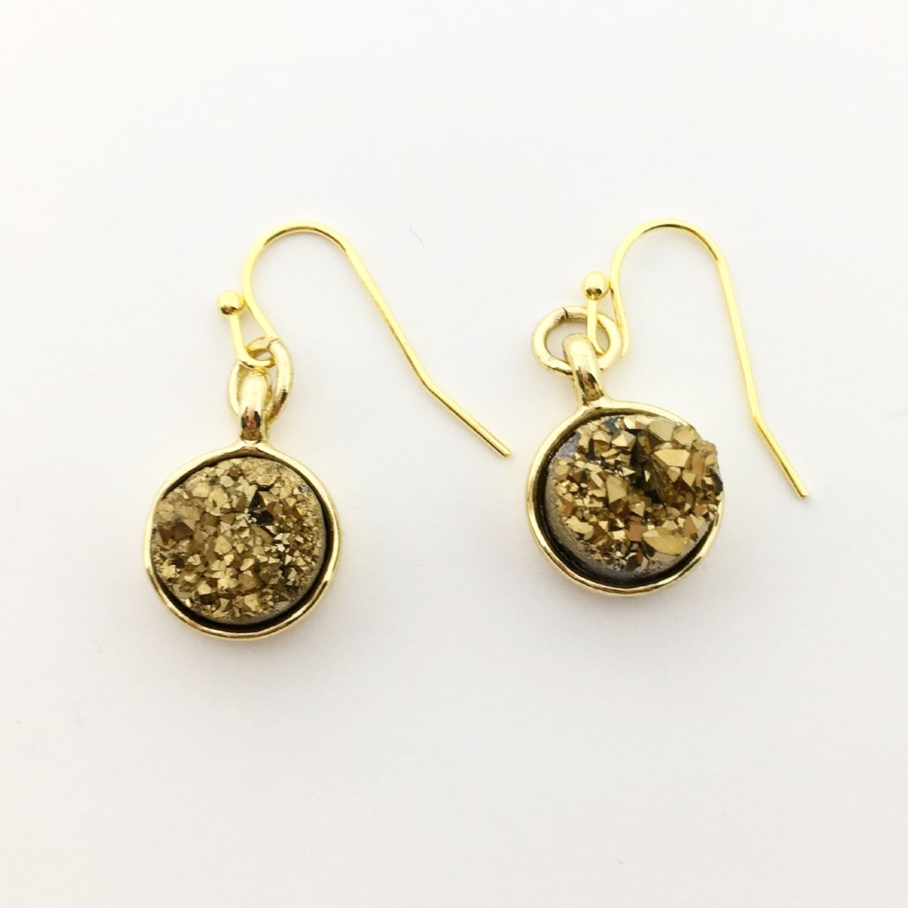 DRUZY DROPS | GOLD | COLOR OPTIONS
