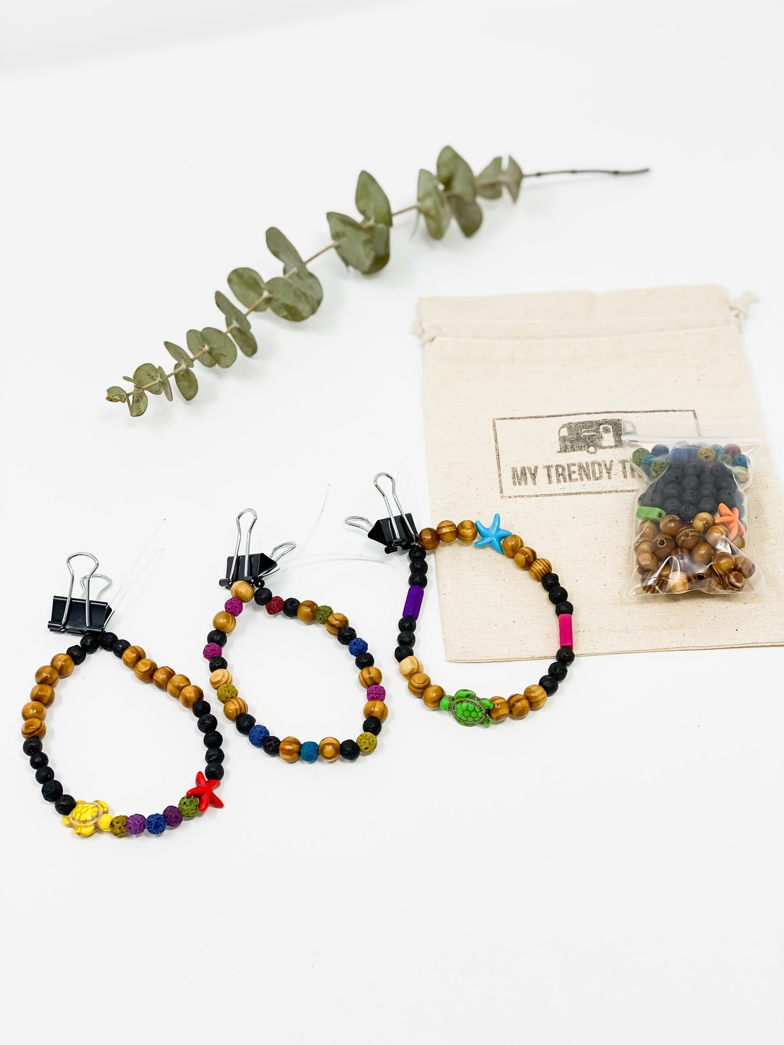 BRACELET MAKING KIT | COLORFUL DIFFUSERS