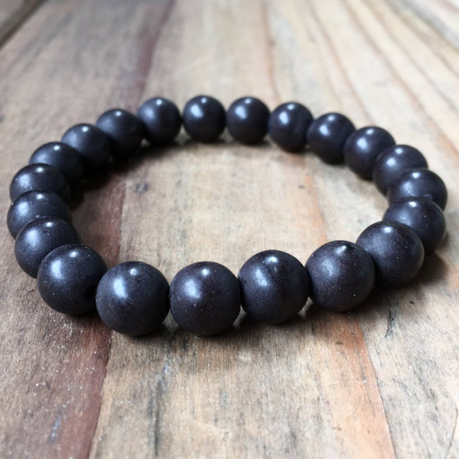 HOWLITE STONE BRACELET | MIDNIGHT | 8MM