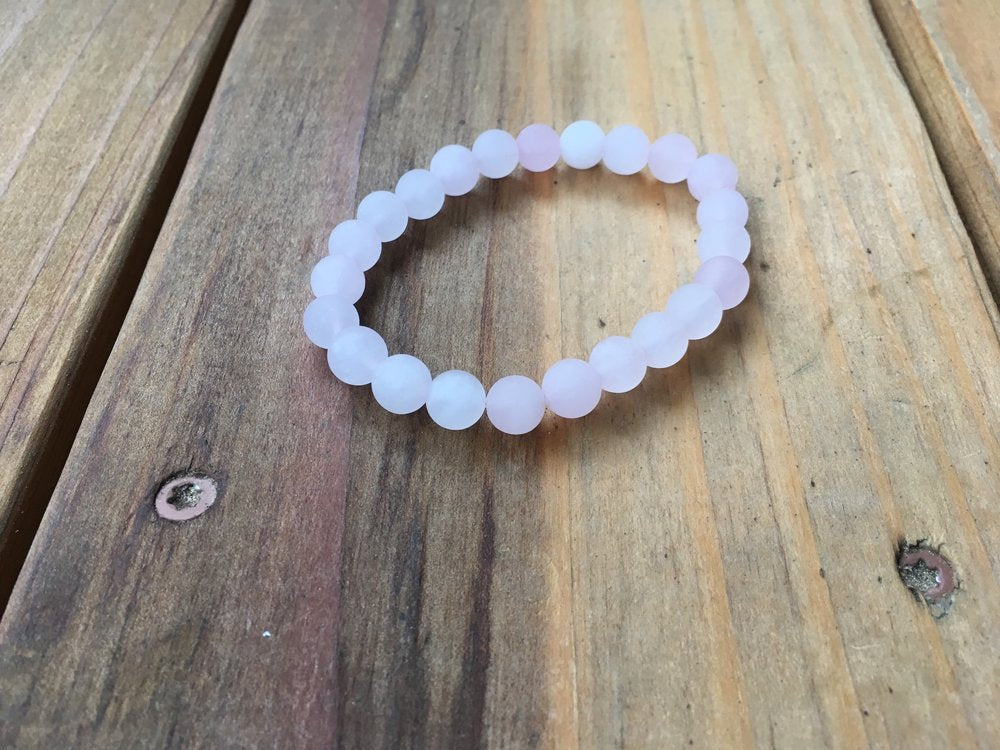 ROSE QUARTZ | MATTE | 8MM