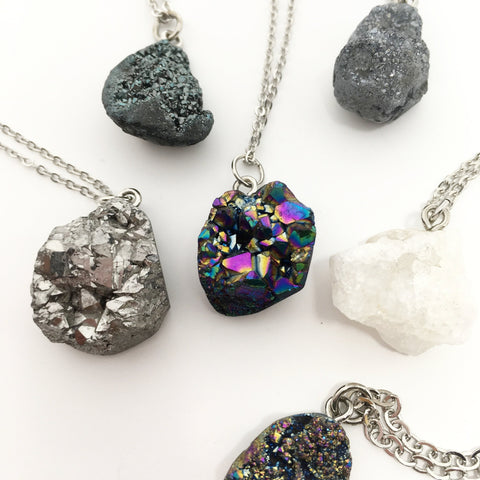 CRYSTAL SPHERE NECKLACE