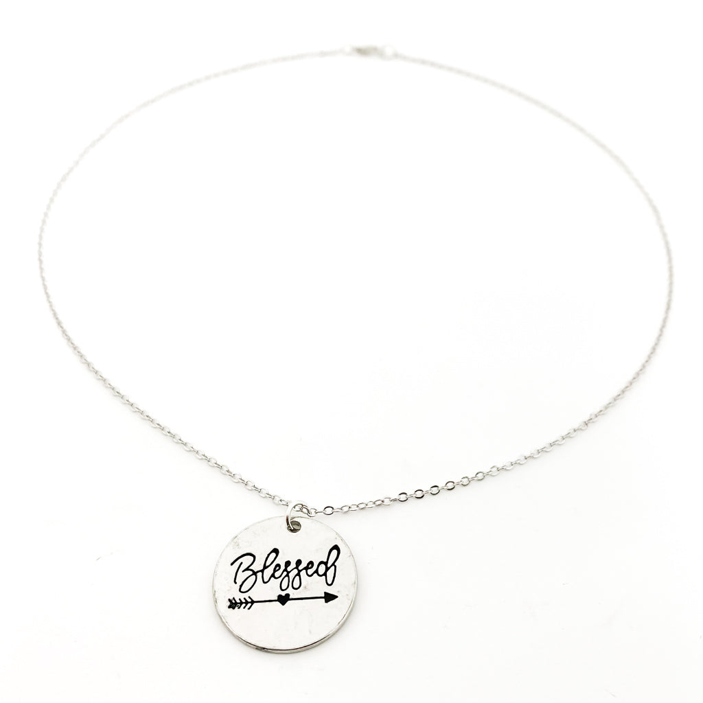 BLESSED NECKLACE | SILVER