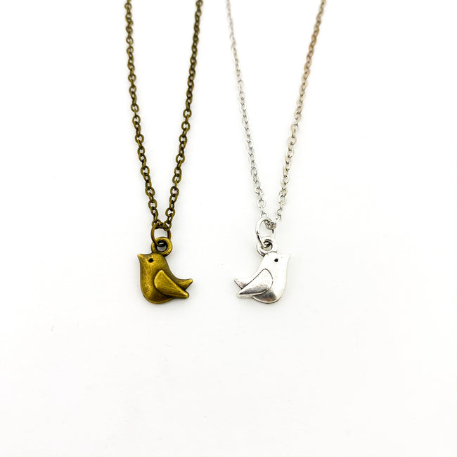 MINI BIRD NECKLACES | STYLE OPTIONS
