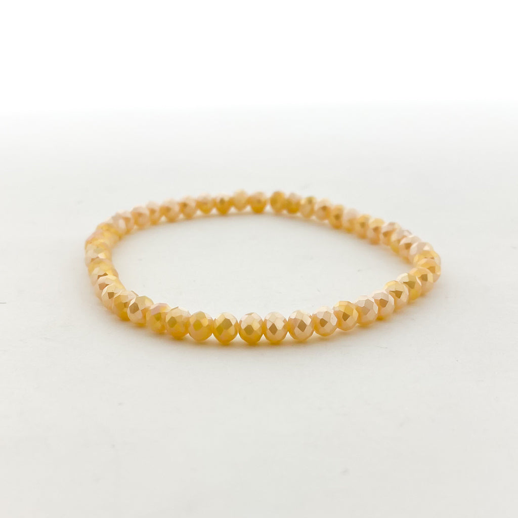 CRYSTAL BRACELETS | 4MM | CHAMPAGNES COLLECTION