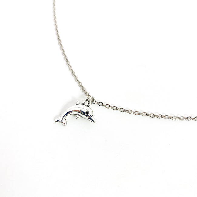 DOLPHIN NECKLACE | SILVER