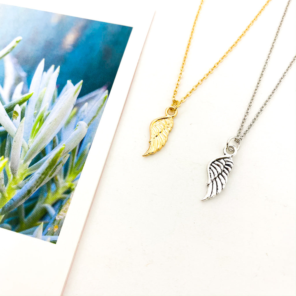 HERMES WING NECKLACE | STYLE OPTIONS