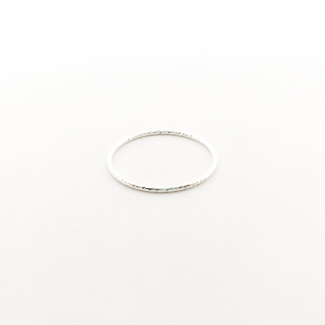 STERLING SILVER TWISTED STACKING RINGS | SIZE OPTIONS