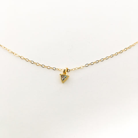 BRONZE ARROW PENDANT NECKLACE