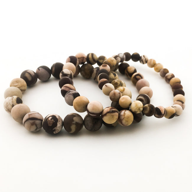ZEBRA JASPER | MATTE | SIZE OPTIONS