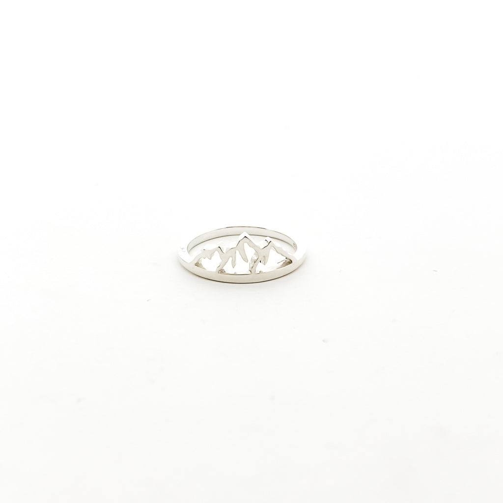 MOUNTAIN RING | STERLING SILVER | SIZE OPTIONS