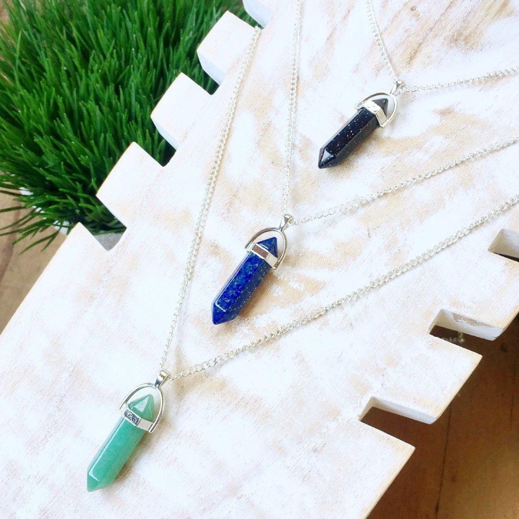 FH ARCH STONE NECKLACES | SOLID COLLETION