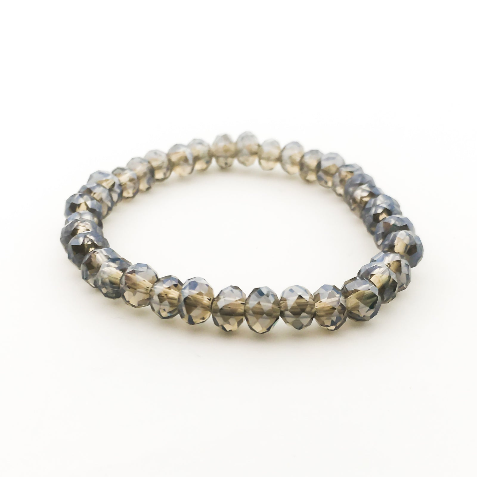 CRYSTAL BRACELETS | 6MM | CLEAR COLOR OPTIONS
