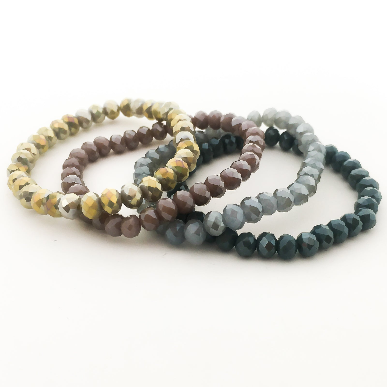 CRYSTAL BRACELETS | 6MM | SPARKLE COLOR OPTIONS