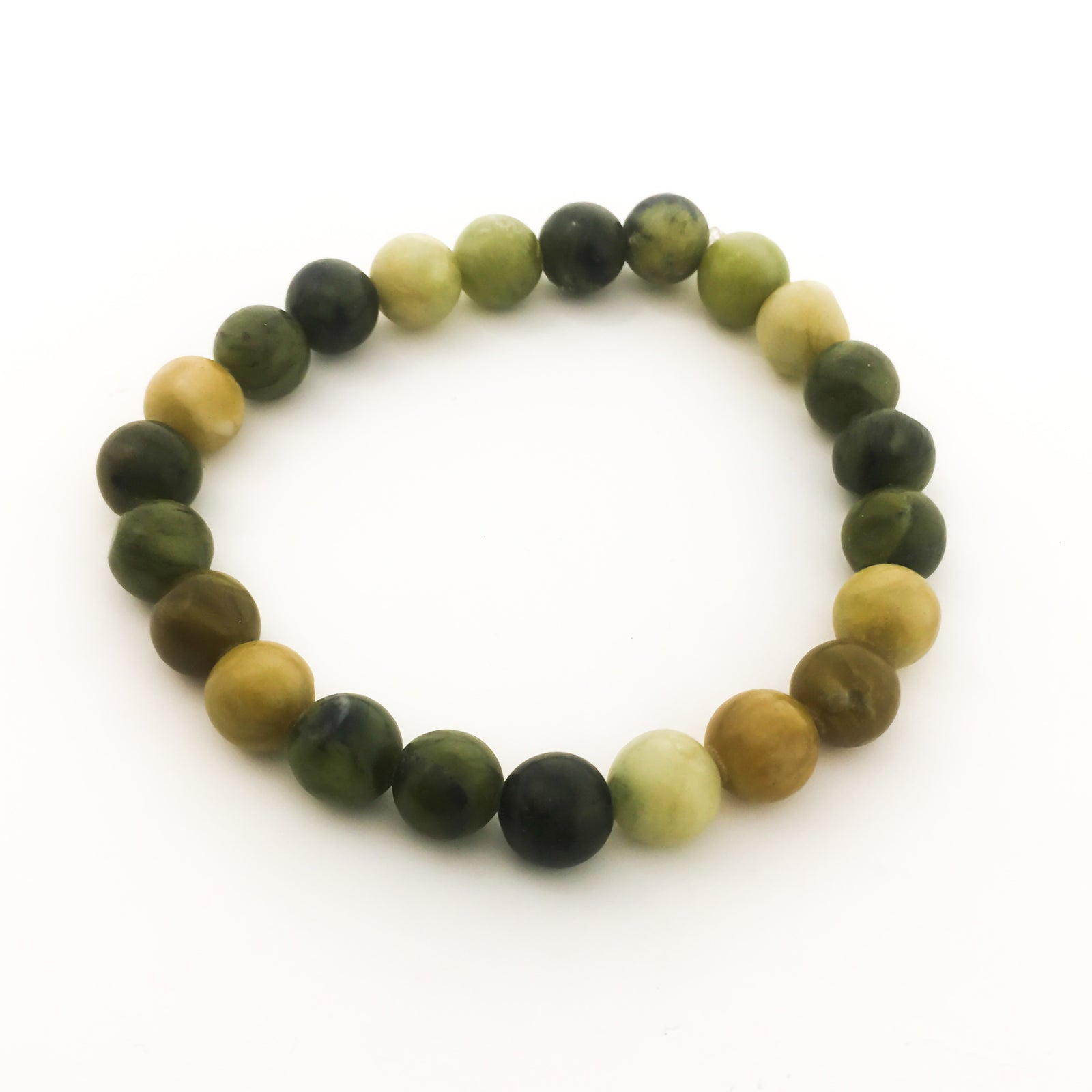GREEN JADE BRACELET | 8MM