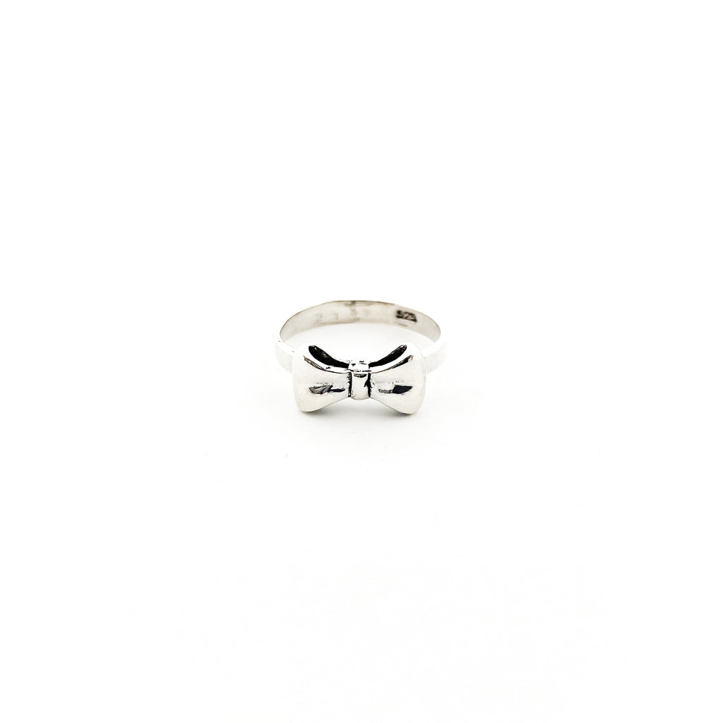 BOW TIE RING | STERLING SILVER | SIZE OPTIONS