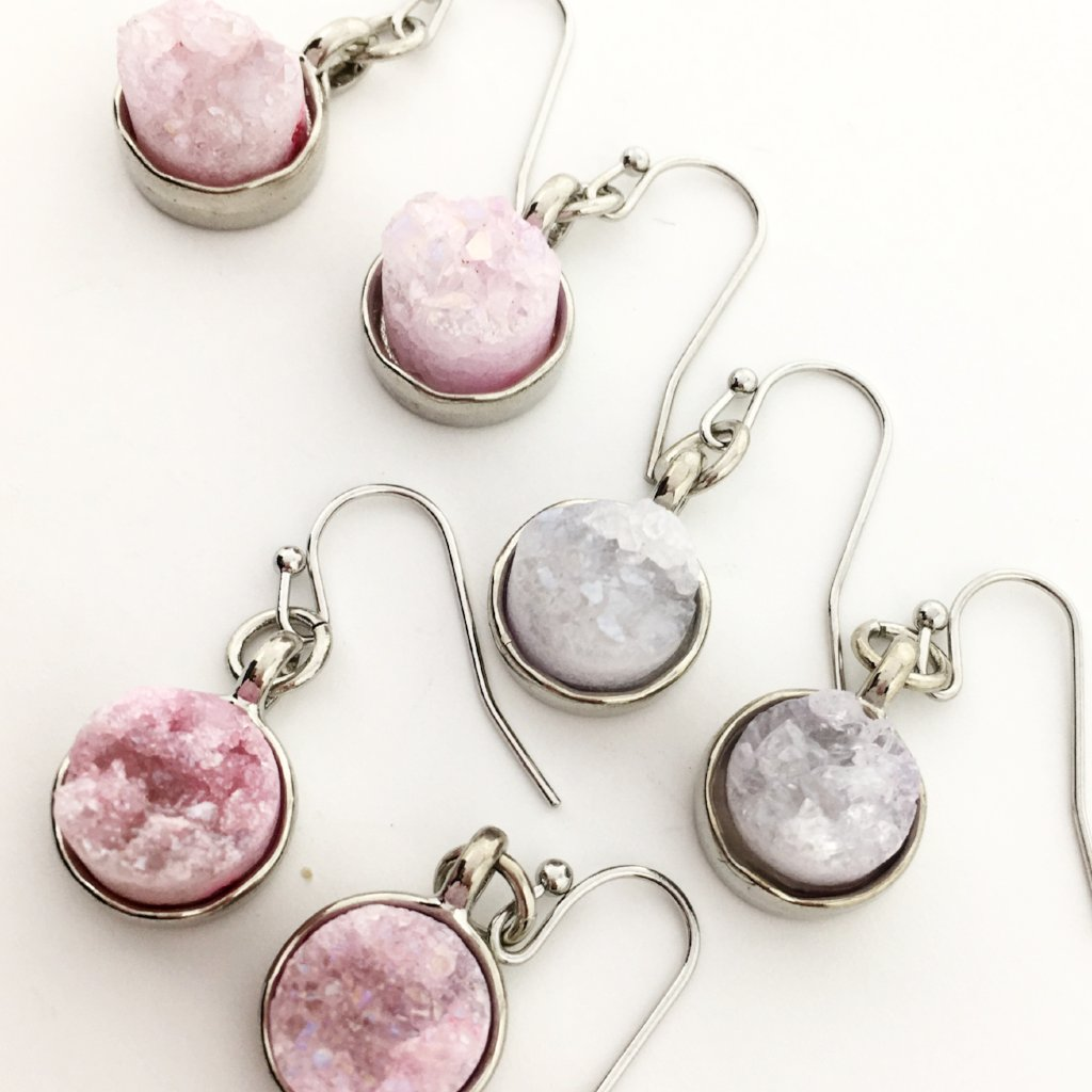 DRUZY DROPS | SILVER | COLORFUL OPTIONS