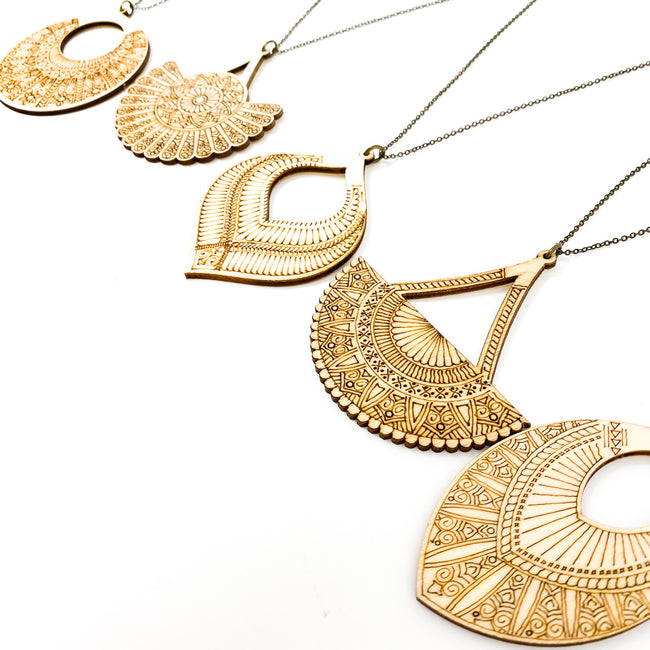 DESIGNED DIFFUSER NECKLACES | STYLE OPTIONS