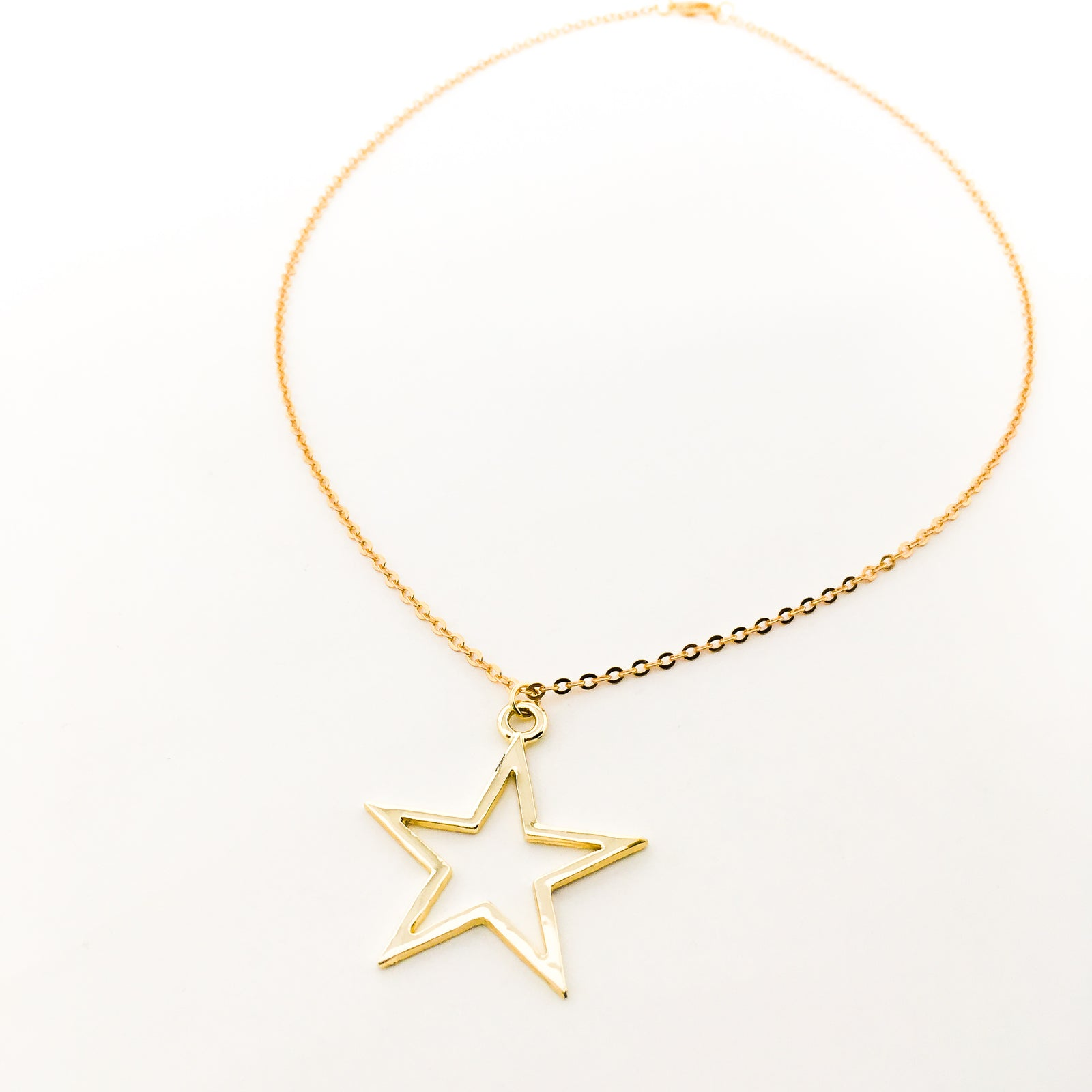 BRIGHT STAR NECKLACE | GOLD