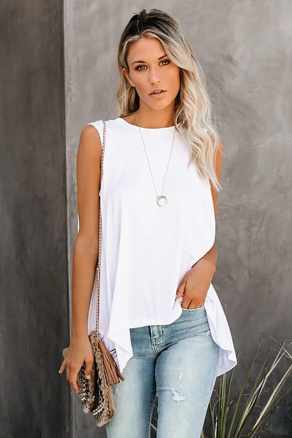 RELAXED HI LOW TANK TOP