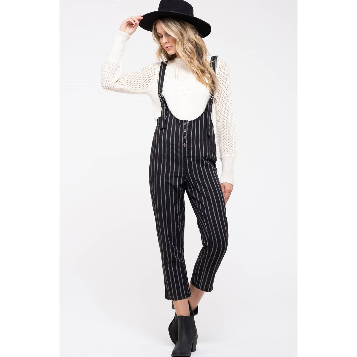 STRIPED JUMPSUIT | ASSORTED COLORS