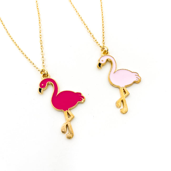KIDS FLAMINGO NECKLACES | COLOR OPTIONS