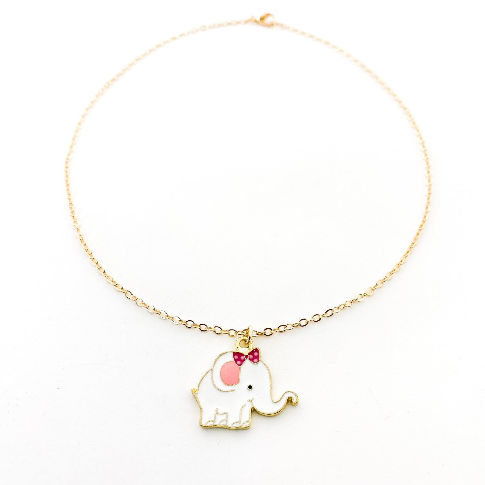 KIDS MINI ELEPHANT NECKLACES | COLOR OPTIONS