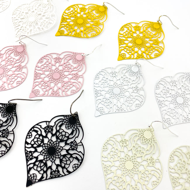 FILIGREE LANTERN EARRINGS | COLOR OPTIONS