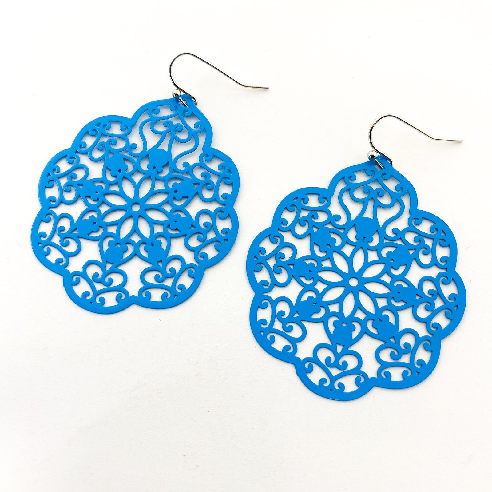 FLORAL FILIGREE EARRINGS | COLOR OPTIONS