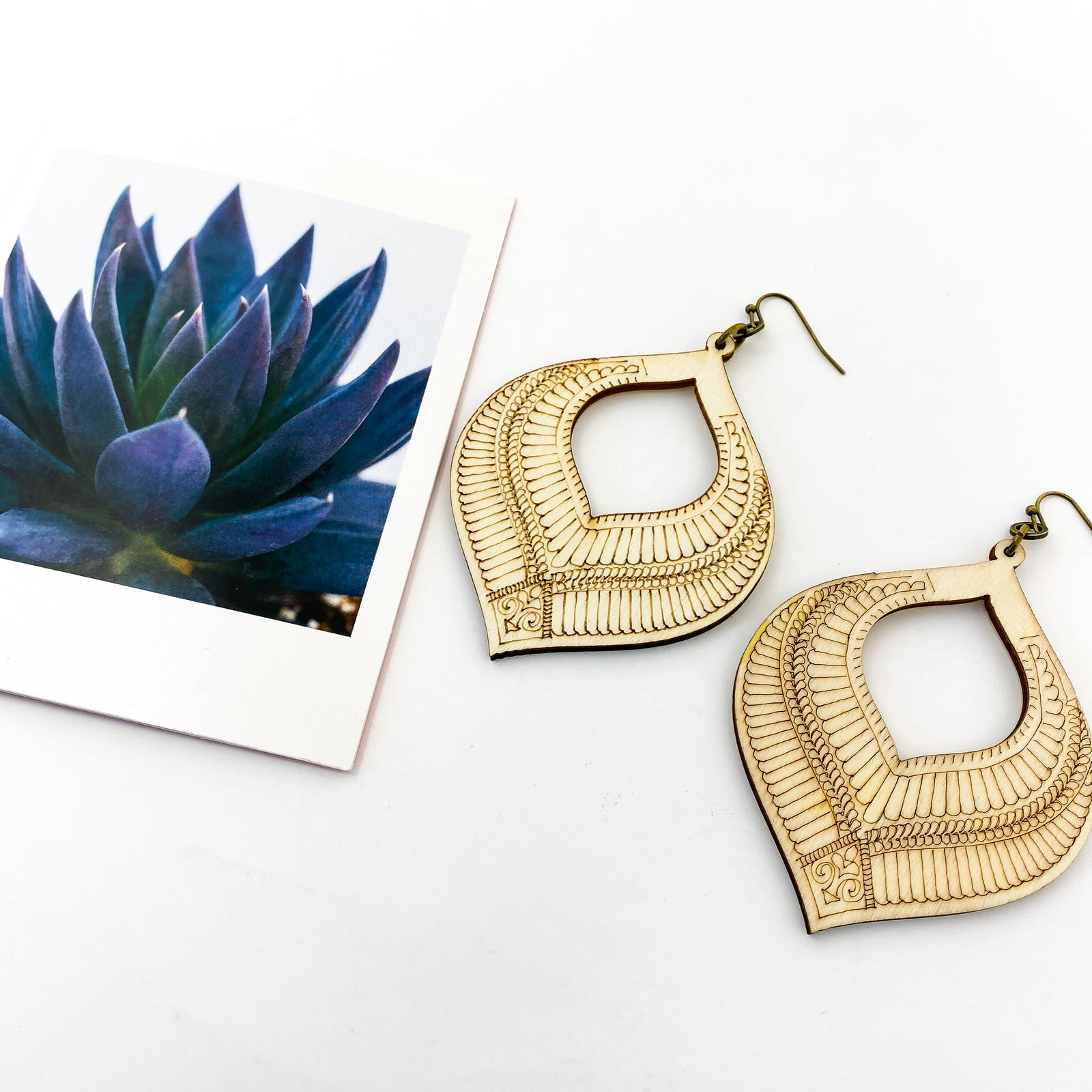 DESIGNED DIFFUSER EARRINGS | STYLE OPTIONS