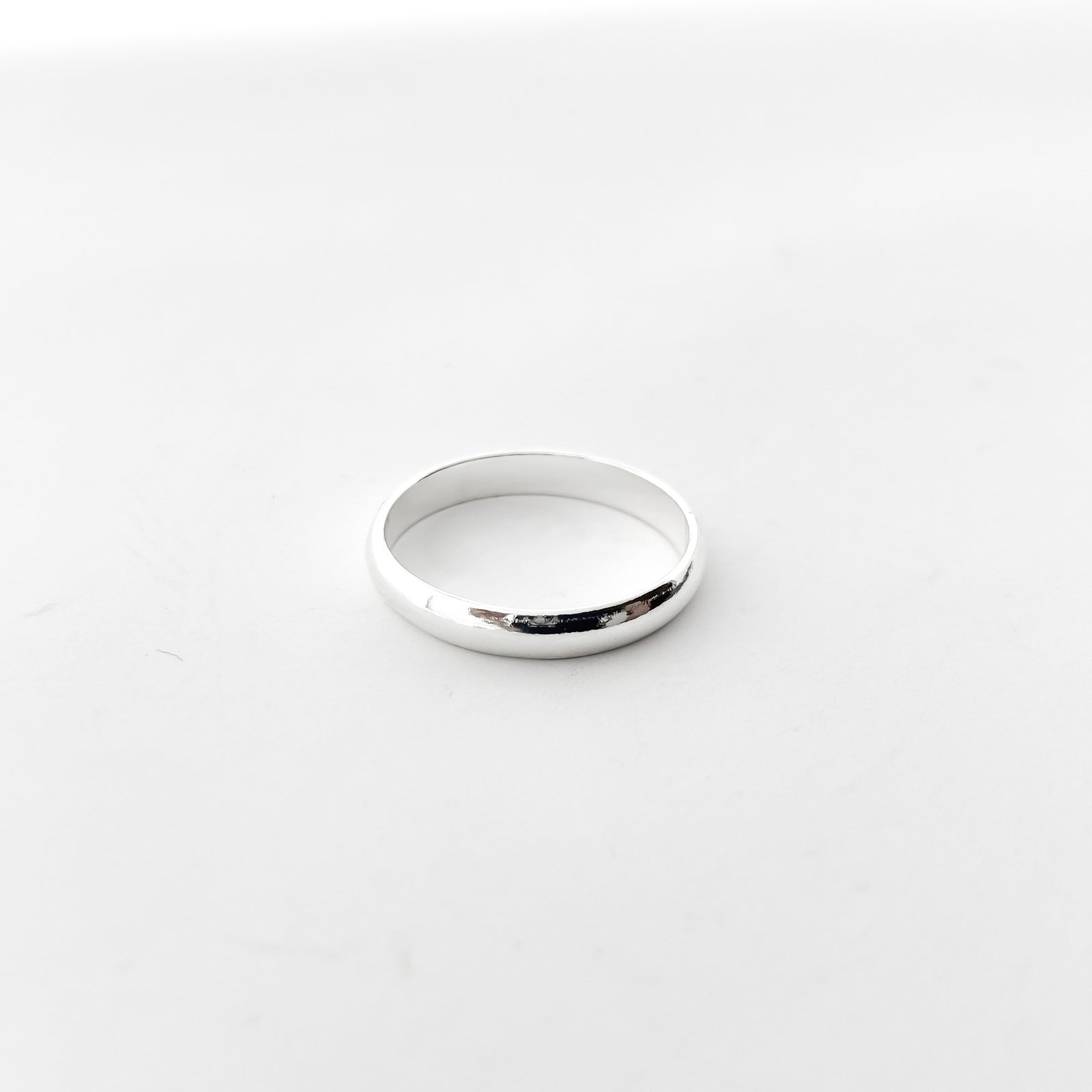 3MM SOLID STACKING RINGS | STERLING SILVER | SIZE OPTIONS