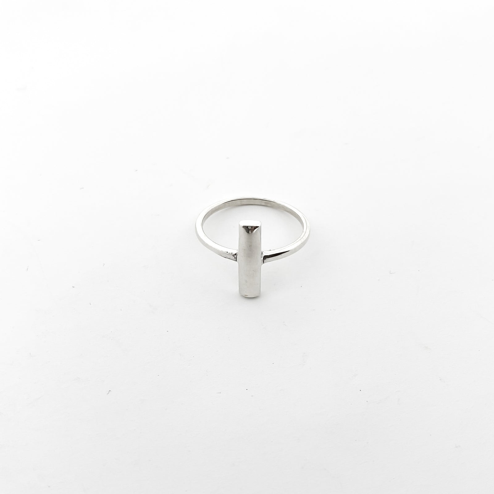 BAR RING | STERLING SILVER | SIZE OPTIONS