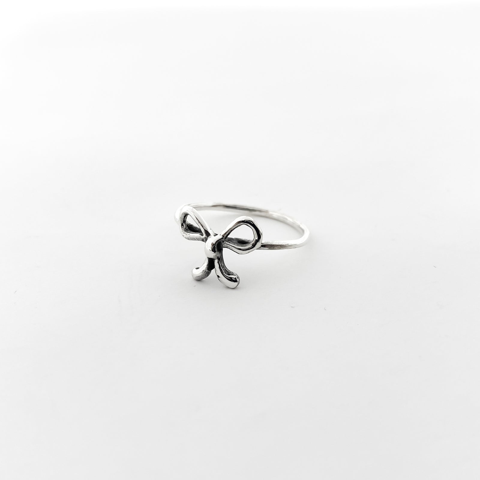 BOW RING | STERLING SILVER | SIZE OPTIONS