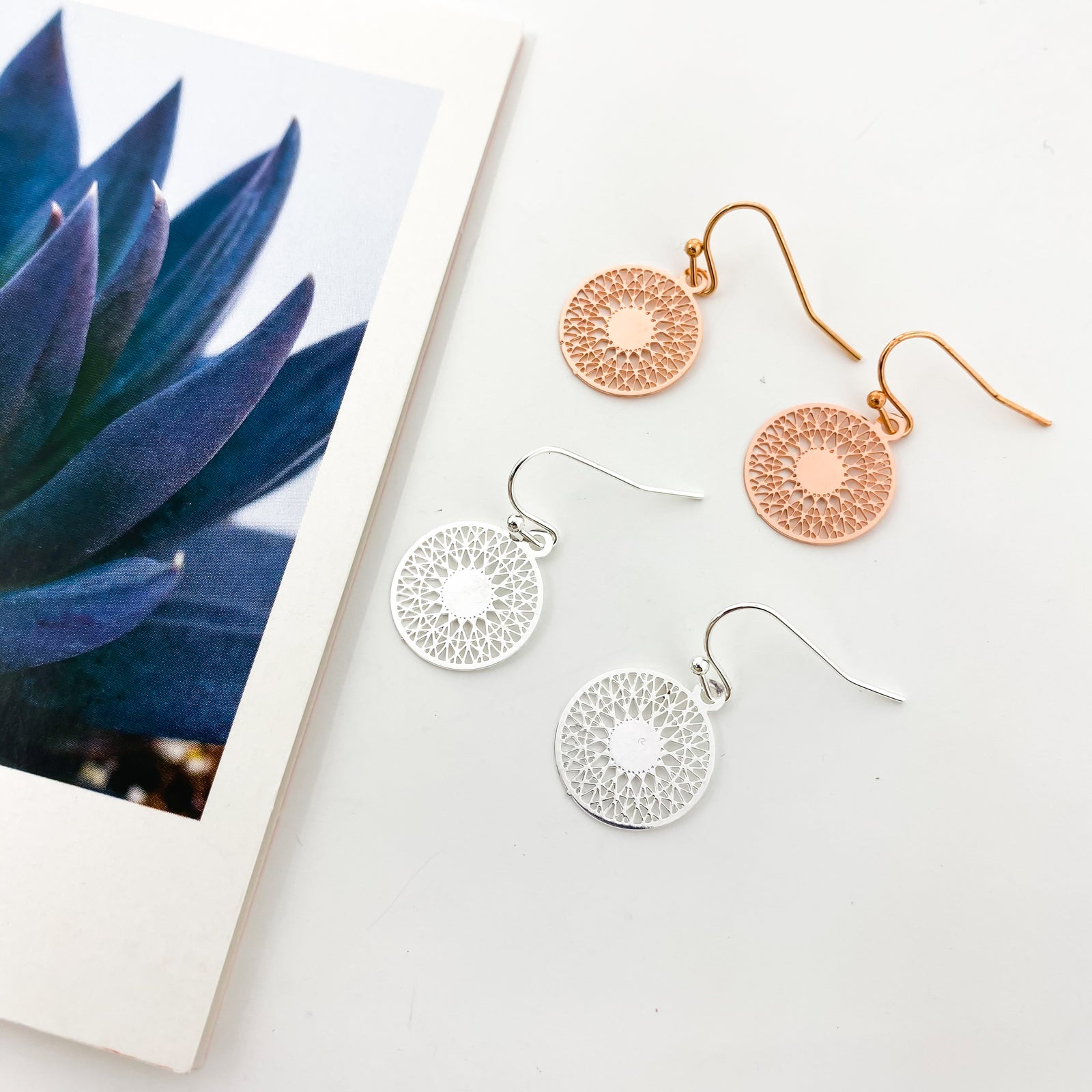 MINI SPHERE FILIGREE EARRINGS | STYLE OPTIONS